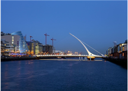 Samuel Beckett Bridge, Degree of Freedom