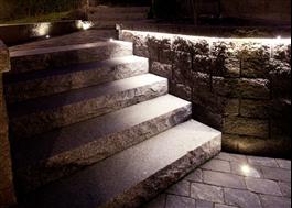 Belysningslist för trädgården