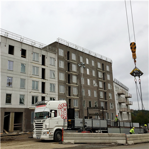 Inbromsning för byggandet enligt Industrifaktas teknikpanel Foto Harald Holm