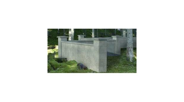 Mursystem utan murning