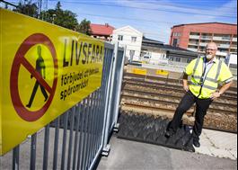 Älvsjö station. Foto Tobias Sterner