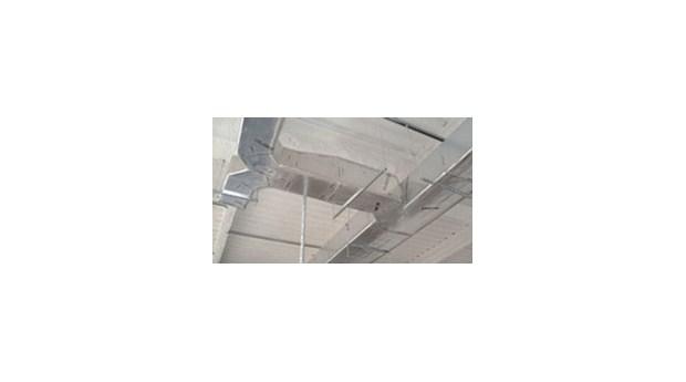 Ventilationsisolering med inbyggd kanal