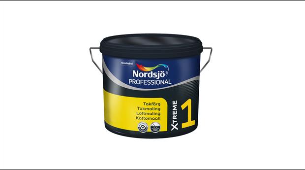 Ny takfärg för yrkesmålare