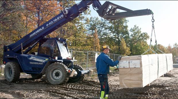 Fortsatt ökning av byggmaterialvärdet. Foto Anders Wester