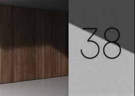 Habo Selection Contemporary Husnummer