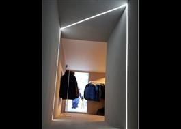 LED-linje i butik
