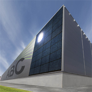 Fasadmonterade energipaneler