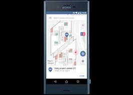 App för lokalisering