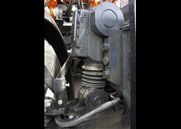 Chassifjädring för hjulgrävare