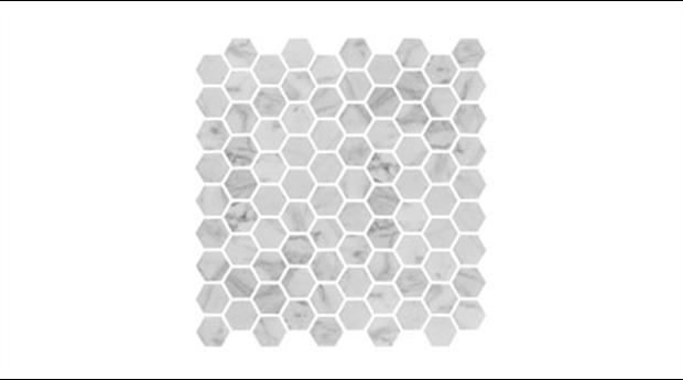 Marmor på golv och vägg