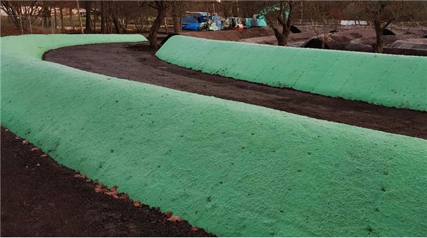 Enklare anläggning av gräsmattor
