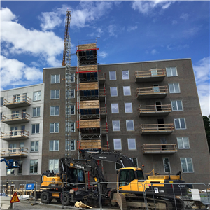 Sverige halkar efter på nordisk byggmarknad