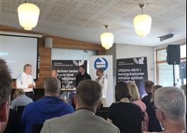 Seminarium med Svensk Däckåtervinning