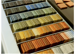 Mjuk betong finns i 250 färger