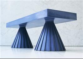 Bänk designad av Marie Pålstam