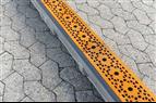 Specialutformade linjeavvattningsgaller