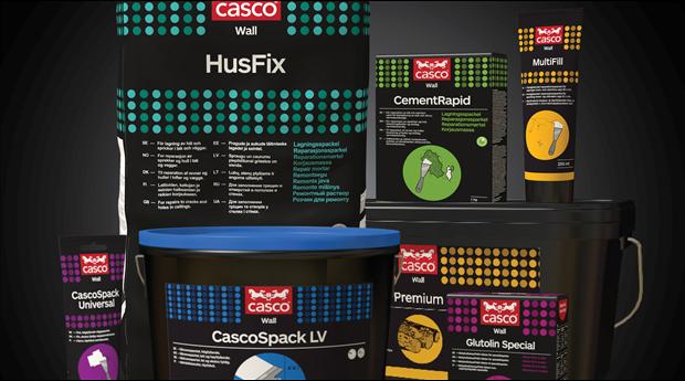 Sika har lanserat ett helt nytt Casco Wall-koncept