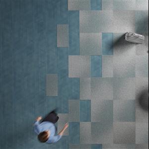 Interface har lanserat två nya golvkollektioner, Visual Code™ Textilplatta och Drawn Lines™ LVT-golv, båda med en design som inspirerats av natur och teknik. Kollektionerna är utformade för att kunna kombineras men går också bra att använda var för sig.