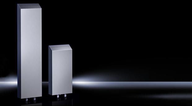 Ny hygiensk design av luft/vattenvärmeväxlare