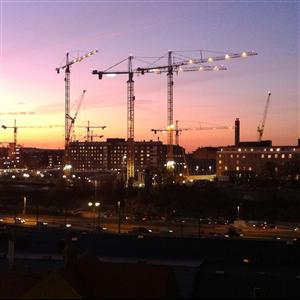 Byggkonjunkturen i Sverige 2019
