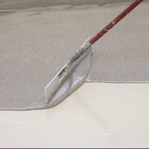 Ny dekorativ beläggning för betonggolv