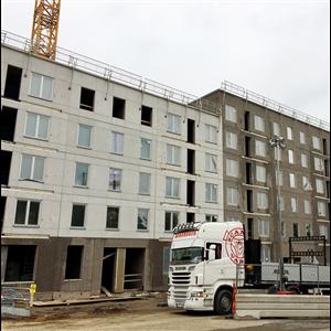 Bred nedgång för byggandet 2018