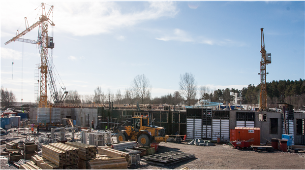 Orosmoln på byggmarknaden enligt Industrifaktas konsultpanel