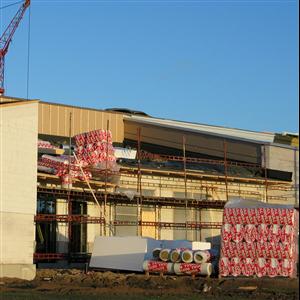 Minskad användning av byggmaterial