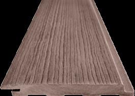 Panelbrädorna är trämönstrade