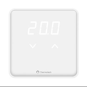 Thermotech utökar sitt sortiment av trådlösa rumstermostater för golvvärme med en ny serie. Serie XD har en tunn och diskret design och en display som kan anpassas till att antingen lysa, dimras eller vara helt släckt.