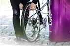 Automatisk cykelpump utan el