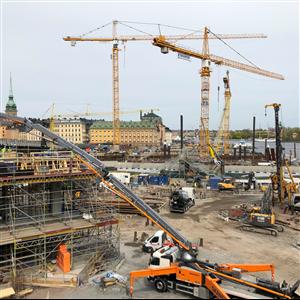 Slussenbygget, Stockholm. Foto: Harald Holm