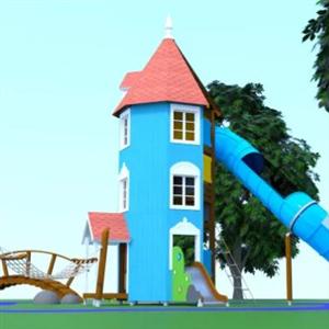 Lekplats inspirerad av Mumin