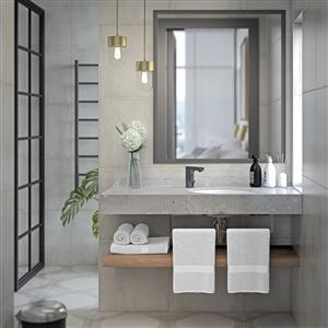 Mora MMIX Tronic är en ny beröringsfri blandare i svart kulör som, förutom att vara hygienisk och bekväm, även minskar vatten- och energiförbrukningen. Blandarens svarta utförande ger den en exklusiv design som gör att den passar lika bra i offentliga miljöer såsom i det lyxigare badrummet hemma.