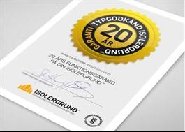 20 års garanti