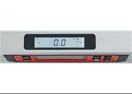Flex Digitalt vattenpass, display ovansida