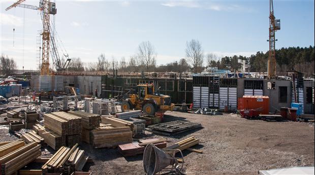 Byggmaterialhandeln växer stadigt