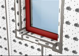 SK 100 W Radonskydd runt fönster