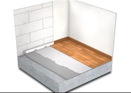 EP 2000 Radonskydd för befintligt betonggolv