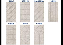 Sju olika mönster