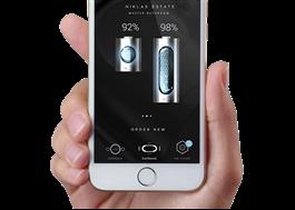 Energi- och vattenförbrukning kan övervakas via en app