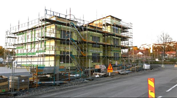 Beviljade bygglov för bostäder