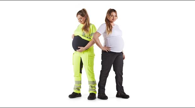 Blåkläder Varsel- och servicebyxor för gravida