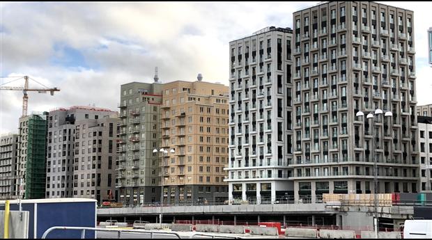 Beviljade bygglov indikerar fallande husbyggnadsinvesteringar inom privata lokaler