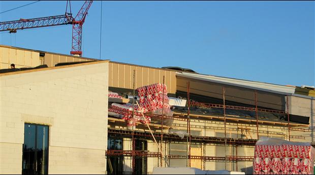 Starkt första kvartal för lokalbyggandet 2020