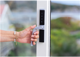 Digitalt kodlås för altandörrar