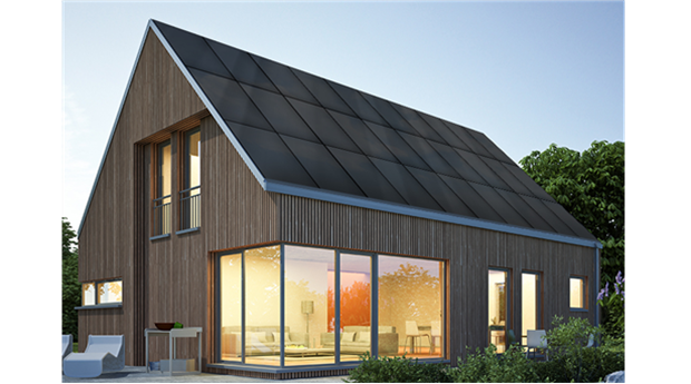 SunRoof solcellssystem för tak- och fasadbeklädnad