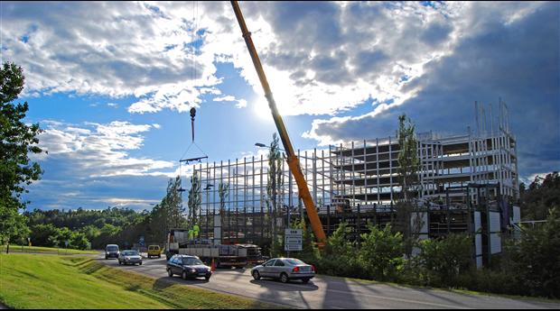 Det offentliga byggandet kan dämpa nedgången i byggkonjunkturen