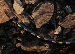 Uponor Snipp & Snapp delbara kabelskyddsrör med snäppkoppling