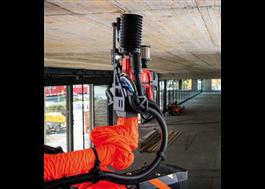 Jaibot är en BIM-aktiverad robot som borrar i tak